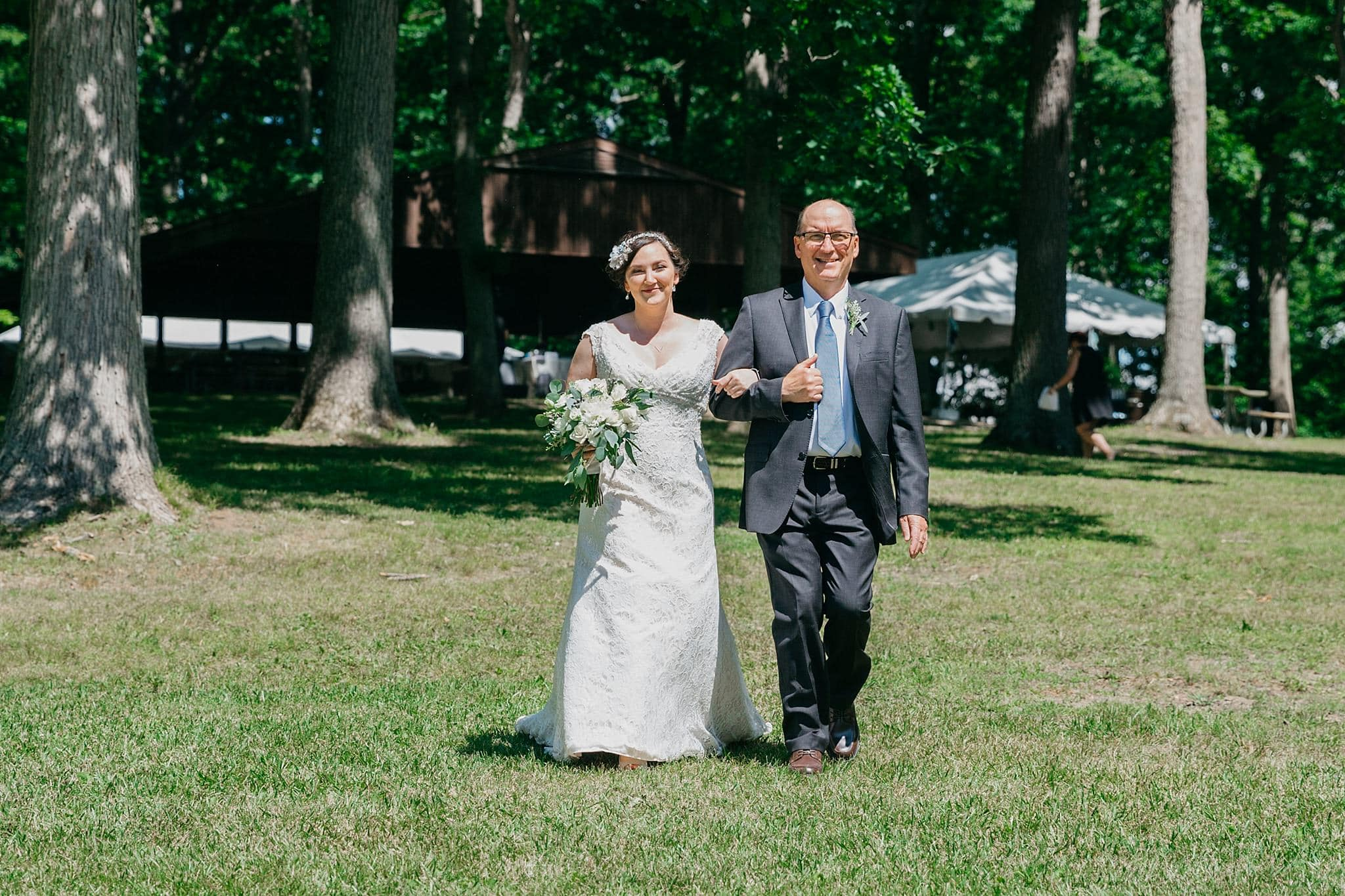 Amy+Anthony // Intimate Lake Wedding At The Family Cottage - Ann ...