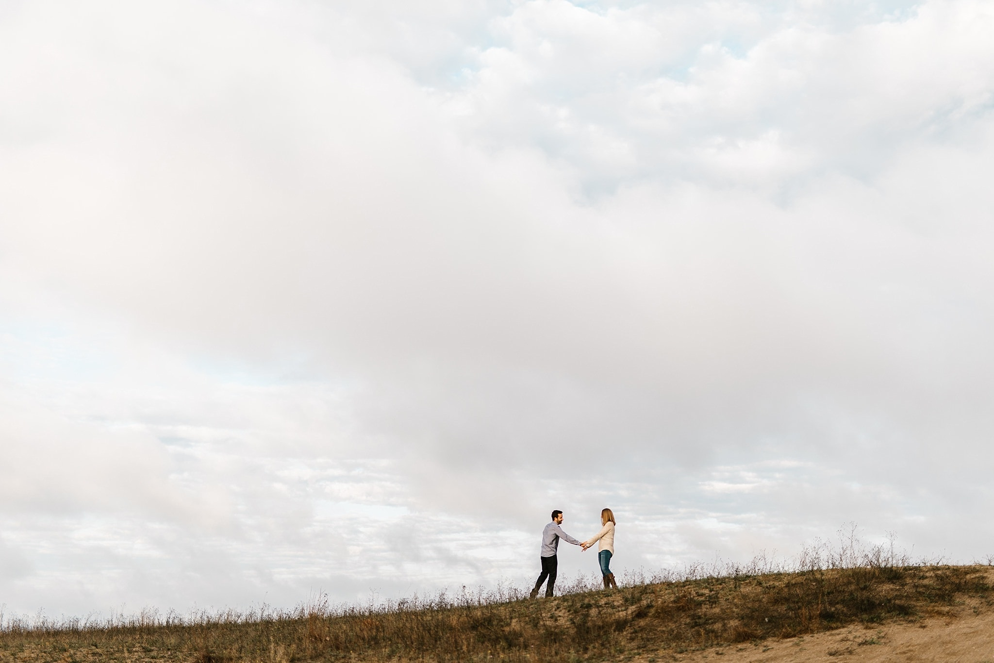 Desert Dune Badlands Engagement Photographer Destination Elopement photographer romantic intimate michigan wedding photographer ME+HIM Photography Detroit Ann Arbor Grand Rapids Ludingtin Traverse City Moab Utah Joshua Tree