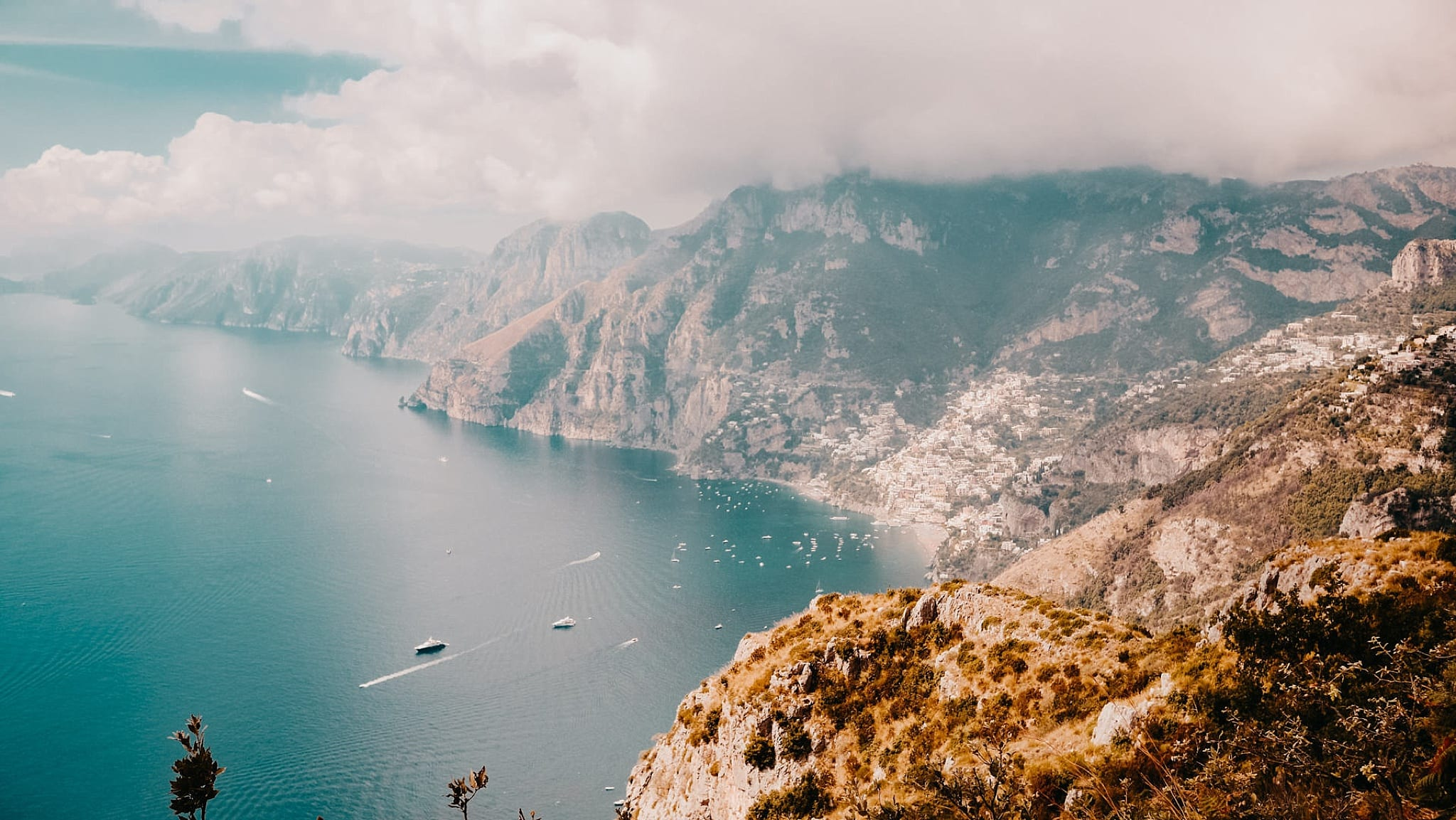Amalfi Coast Destination Wedding Adventurous Elopement Travel Guide - Ravello Positano Villa Cimbrone Wedding Photographer - ME+HIM Photography